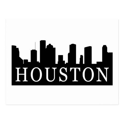 Houston Skyline Post Cards