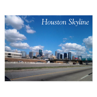 Houston Skyline Postcard