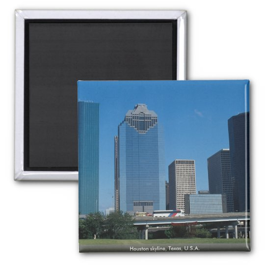 Houston skyline, Texas, U.S.A. Magnet
