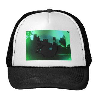 Houston Skyline- West Trucker Hat