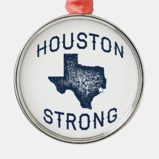 Houston Strong - Harvey Metal Ornament