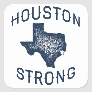 Houston Strong - Harvey Square Sticker