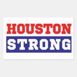 Houston Strong Texas Pride Rectangular Sticker