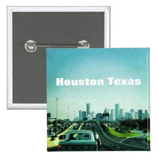 Houston Tejas (botón) Pin