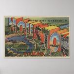 Houston, Tejas - escenas grandes 2 de la letra Impresiones