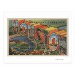 Houston, Tejas - escenas grandes 2 de la letra Tarjeta Postal