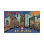 Houston, Tejas - escenas grandes 3 de la letra Tarjeta Postal