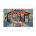 Houston, Tejas - escenas grandes de la letra Tarjeta Postal