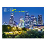 Houston, Tejas, los E.E.U.U. Tarjeta Postal