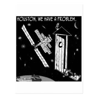 Houston, tenemos un problema tarjetas postales