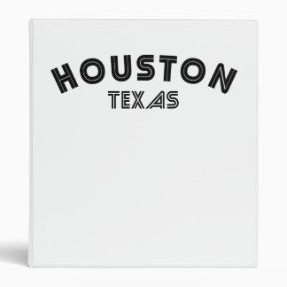 Houston Texas Binder