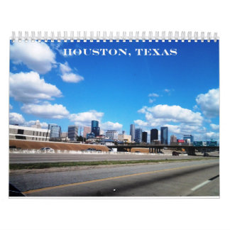 Houston, Texas - Calendar