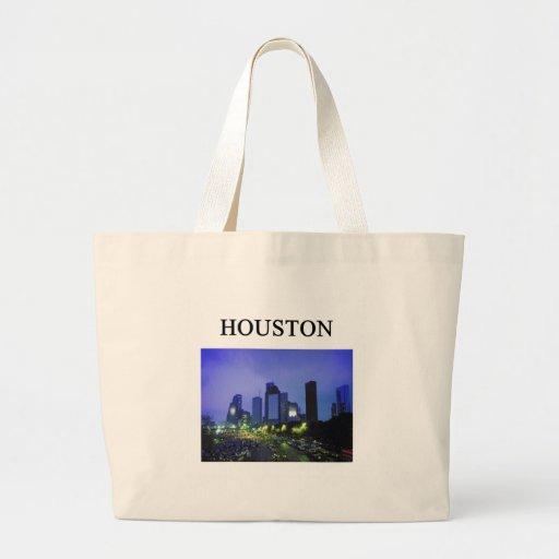 HOUSTON texas Canvas Bag