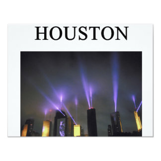 HOUSTON texas Card