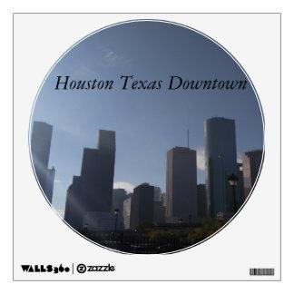 Houston Texas Downtown Wall Sticker