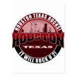 Houston Texas - Houston Rocks! It Will Rock U 2 Post Cards