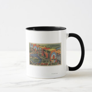 Houston, Texas - Large Letter Scenes 2 Mug