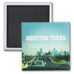 Houston Texas (Magnet) 2 Inch Square Magnet