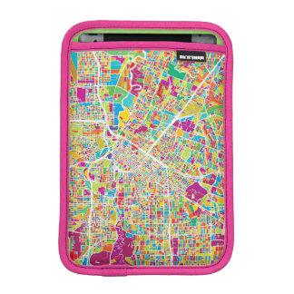Houston, Texas   Neon Map Sleeve For iPad Mini