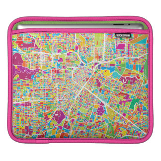 Houston, Texas | Neon Map Sleeve For iPads