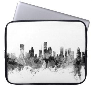 Houston Texas Skyline Laptop Sleeves