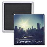 Houston Texas Skyline (Magnet) 2 Inch Square Magnet