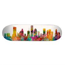 Houston Texas Skyline Skateboard Deck