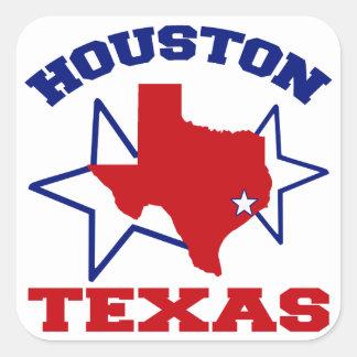 Houston, Texas Square Sticker
