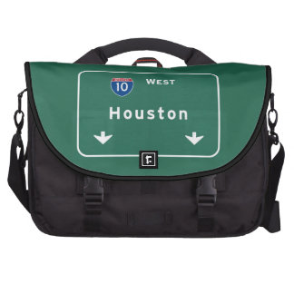 Houston Texas tx Interstate Highway Freeway Road : Laptop Bags