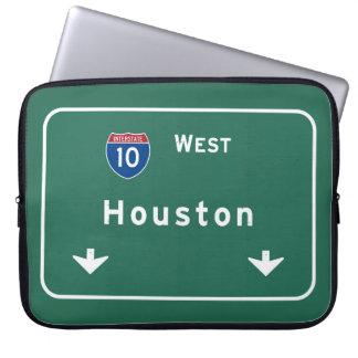 Houston Texas tx Interstate Highway Freeway Road : Laptop Computer Sleeves
