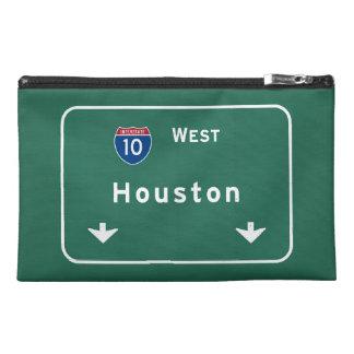 Houston Texas tx Interstate Highway Freeway Road : Travel Accessory Bag