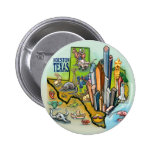 Houston TX Pinback Buttons