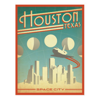 Houston, TX Postcard