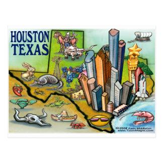 Houston TX Postcard