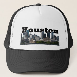 Houston, TX Skyline with Houston in the Sky Trucker Hat