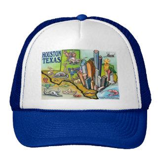 Houston TX Trucker Hat
