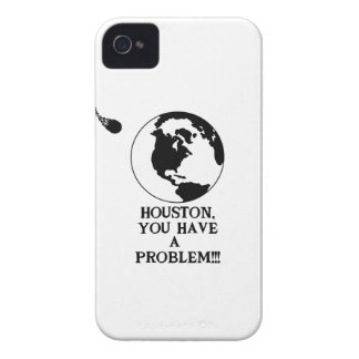Houston You Have A Problem - Funny NASA Print Case-Mate iPhone 4 Case