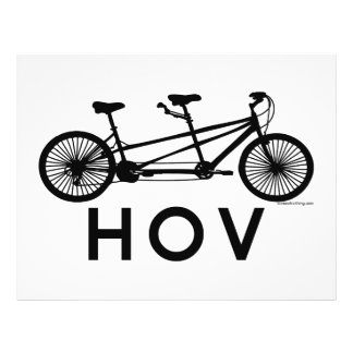 HOV Tandem Bicycle Full Color Flyer