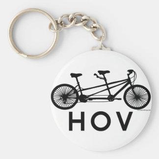 HOV Tandem Bicycle Key Chains