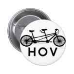 HOV Tandem Bicycle Pin