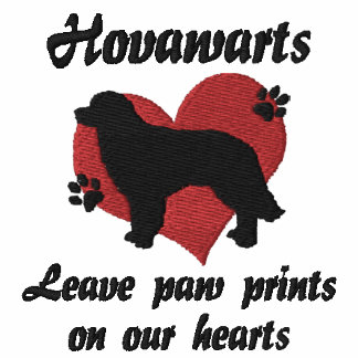 Hovawarts Leave Paw Prints