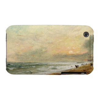 Hove Beach, c.1824 (oil on paper on panel) iPhone 3 Cases