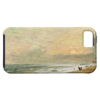 Hove Beach, c.1824 (oil on paper on panel) iPhone SE/5/5s Case