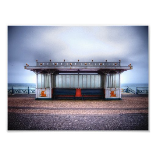 Hove Promenade Photographic Print