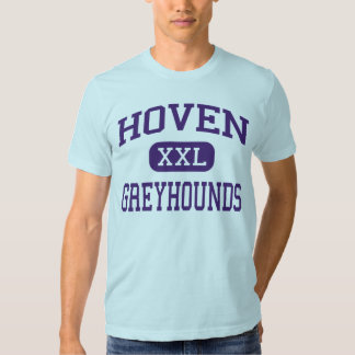 Hoven - galgos - alto - Hoven Dakota del Sur Playera