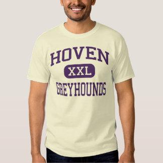 Hoven - galgos - alto - Hoven Dakota del Sur Playeras