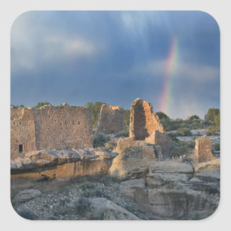 Hovenweep Castle, Hovenweep National Monument, Square Sticker