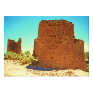 Hovenweep's Ancient Towers ACEO Large Business Card