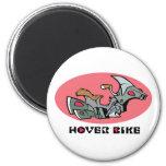 Hover Bike Fridge Magnet