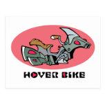 Hover Bike Postcards
